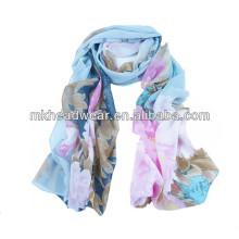 Офис дамы полиэфирной печати шарф