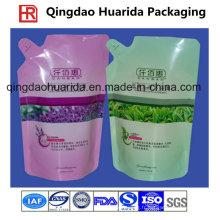 Détergent coloré de blanchisserie d'impression / poudre de lavage / sac d'emballage de produit de nettoyage