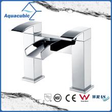 Dual Handle Bathroom Bath Shower Faucet/Mixer (AF6004-2B)