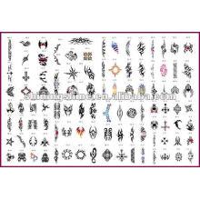 2016 heiße Verkauf Schablonen Airbrush, Airbrush Tattoo Schablone