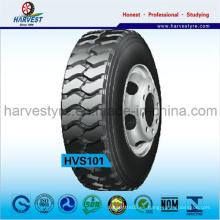 Patrón de tracción tipo tubo para neumáticos de camiones