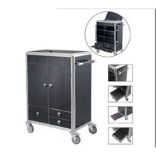 Hotel Room Service Trolley Housekeeping Cart (DD39)