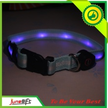 2015 Novelty Hot Sale Cheap LED Flashing Nylon Dog Collar (D001)