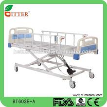 Lit d'hôpital électrique à 3 fonctions à chaud