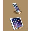 Flexibler hölzerner Handy-Standplatzhalter für Telefongeräte