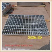Revêtement de sol en grès en acier galvanisé pour vente