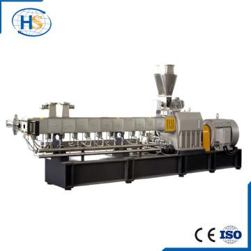 Nanjing Haisi venta caliente máquina de extrusión de tornillo gemelo para plástico