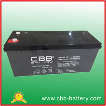 Maintenance Free Solar Acid Deep Cycle AGM Battery 12V200ah