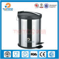 2013 high quality stainless steel mobile garbage bin