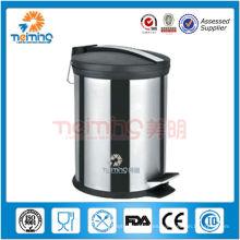 Contenedor de basura móvil de acero inoxidable de alta calidad 2013