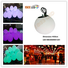 Full color 30cm RGB led dmx magic ball