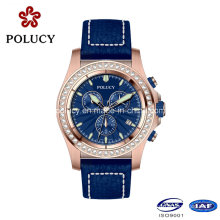 Fashion Stainless Steel Latest Style Business Men Luxury Watch