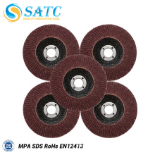 Abrasive flap disc flap disk for wood polishing 10 PACK