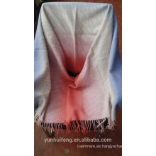 Nuevo producto de cachemira y lana bufanda / chal para mujer
