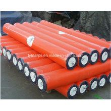 Waterproof Durable Double Orange PE Tarpaulin Roll/Poly Tarp
