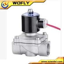 Edelstahl AC220v / DC24v 12v Wasserspender Magnetventil