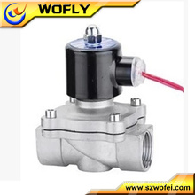 220v/24v/12v normally closed stainless steel water solenoid valve 1/4''~2'' G/NPT thread