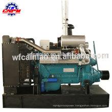306hp 1500rpm 6126ZLP diesel engine with big clutch belt pulley