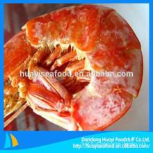 Fornecedor chinês de frutos do mar fornecem diferentes tamanhos congelados congelados shrimp preço baixo