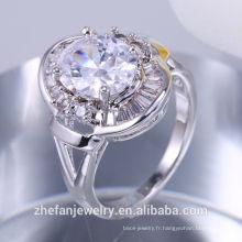 En gros article bijoux en argent sterling cadeaux pour la bague d'anniversaire des mères