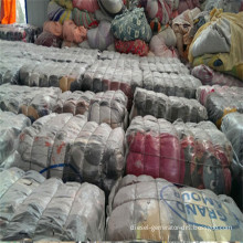 Second Hand Used Clothing and Shoes and Container of Used Clothes