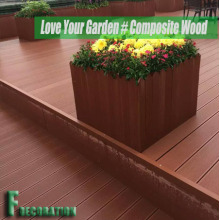 Recycled Outdoor Composite Wood Plastic WPC Decking
