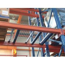 Estante de plataforma de almacén de acero de metal resistente