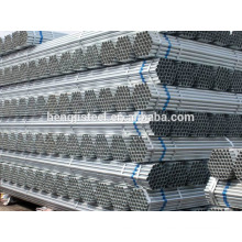 Welded Galvanized Water Pipe with High Quality