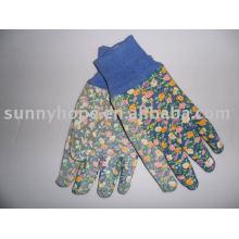 Женская садовая перчатка