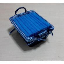 (BC-G1009) Toalha de Terry do presente promocional com cesta de armazenamento