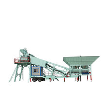 Mini Ready Mix Concrete Plant Equipment For Sale