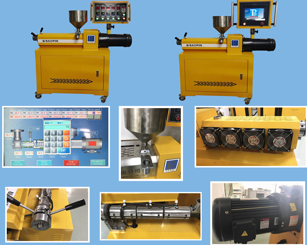 single screw extruder details