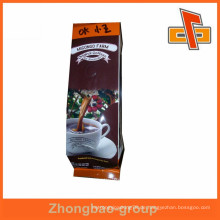 Aluminium-Kunststoff-Futter Kraftpapier Kaffeebeutel mit Ventil