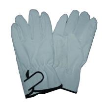 Schwein-Split-Fahrer-Handschuh, Klett-Manschette