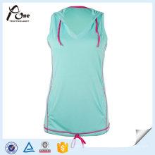 Mode Fitness Vêtements de sport Hoodies populaires Femmes Vest