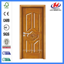 * JHK-MD09 Ev Kapakları İç Mekan Melamin Özel Ahşap Kapılar Melamin Kapı Cildi