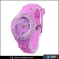 silicone band lady china watch