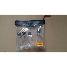 4PCS Pet Plastic Cosmetic Packaging Travel Bottle Kit