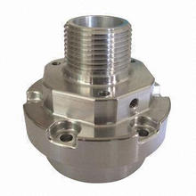 Fresagem, perfuração e perfuração / usinagem CNC parte, torneamento CNC