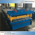 Lembaran Steel Color Glazed Tile Roll Forming Machine