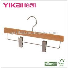 Hochwertige Buche Holzhose Aufhänger mit Metallclips