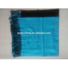 mogolia interior de lana doble. bufanda de casimir