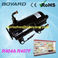 a refrigeração poupa o compressor de refrigeração giratório horizontal da BOARD de R448A R449A R404A para congeladores dos refrigeradores da absorção