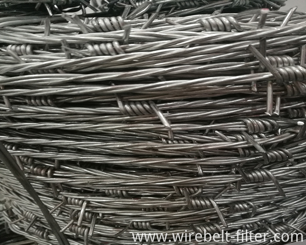 Triple Strand Barbed Wire