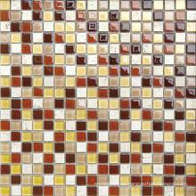 Mosaico de cristal de 4mm para el cuarto de baño