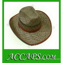 Chapéus grossos de cowboy de palha BH-217