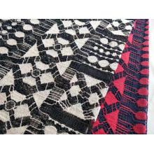 Cotton Nylon Rayon Geometry Lace
