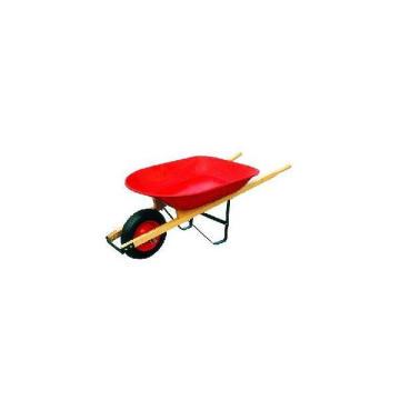 Brouette / brouette de roue de poignée en bois (WH4400)