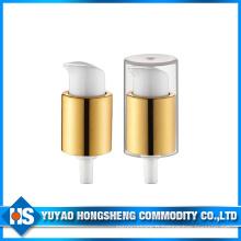 Pompe à crème cosmétiques en aluminium pour poudre
