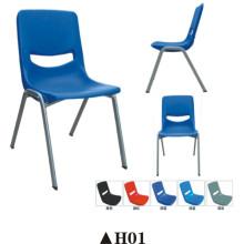 Cadeira do restaurante cadeira de jantar com assento de plástico de volta